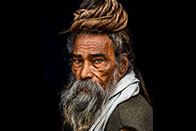 Portrait of a Sadhu... - Rakesh J.V