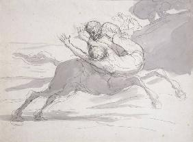 Honore Daumier / Kentaur
