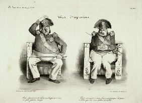 Louis Philippe, Tetes d''expressions