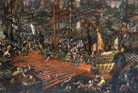 Seeschlacht bei Lepanto 1571 / Vicentino