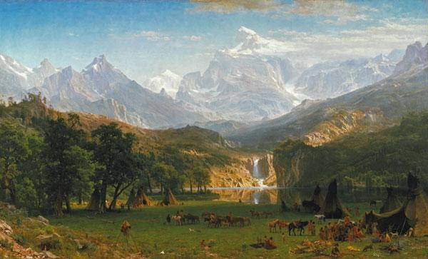The Rocky Mountains, Lander's Peak 1863