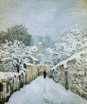 Winter in Louveciennes. 1878