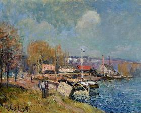 The Seine at Port-Marly 1877