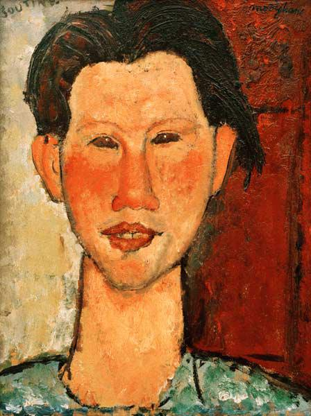 Chaim Soutine 1915/ painting/ Modigliani