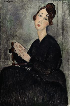 Portrait of Dedie (Dedicated to Odette Hayden) 1918