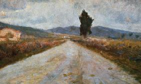 The Tuscan Road c.1899