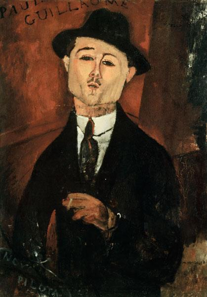 Paul Guillaume / Modigliani painting