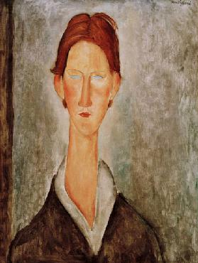 A.Modigliani, The student