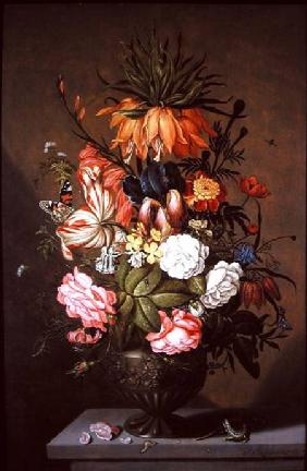 Still Life of Assorted Flowers 1634