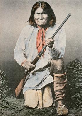 Geronimo (coloured photo) 16th