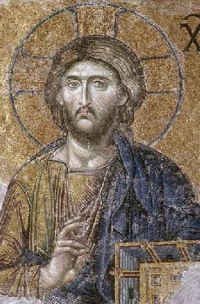 Mosaic depicting the Deesis Christ, South Gallery,Byzantine 14th centu