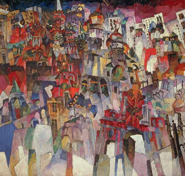 Moscow, 1913 (oil on canvas) 16th