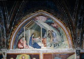 The Birth of Christ, from a series of Scenes of the New Testament (fresco) 1661