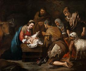 The Adoration of the Shepherds c.1650