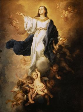 The Assumption of the Virgin 1670s