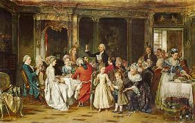 The Toast to the Bride 1870