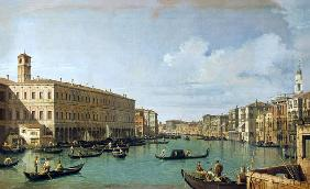 The Grand Canal from the Rialto Bridge