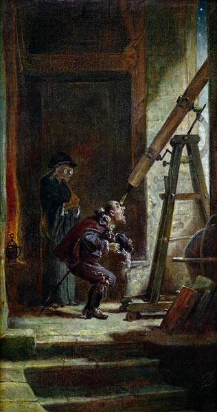 Spitzweg / The Astrologist / Painting