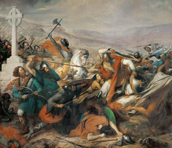 The Battle of Poitiers, 25th October 732 1837