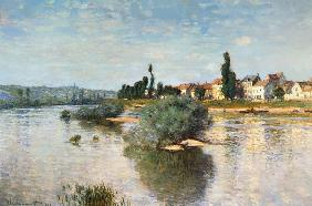The Seine at Lavacourt 1880