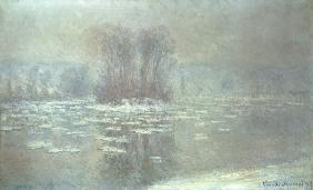 Ice at Bennecourt 1898
