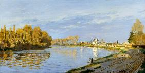 The Seine at Bougival 1872