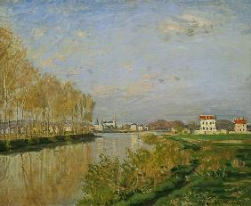 The Seine at Argenteuil 1873