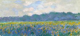 Field of Yellow Irises at Giverny 1887