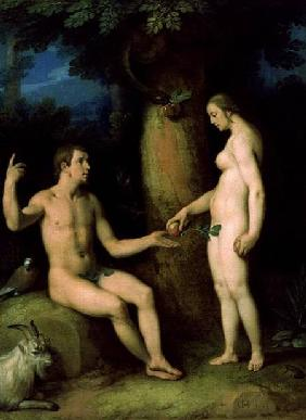 Adam and Eve 1622