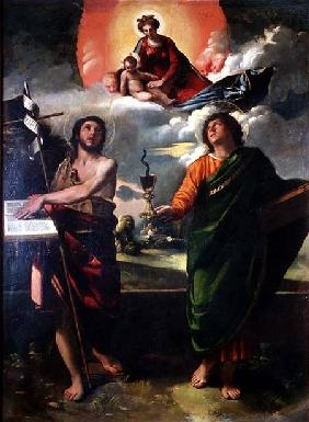 The Apparition of the Virgin to the Saints John the Baptist and St. John the Evangelist