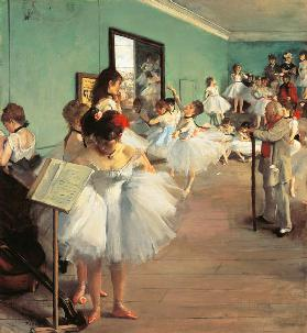 The Dance Class (Dance Examination) 1873–1874