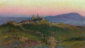 View of San Gimignano 1898