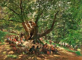 Robin Hood And His Merry Men In Sherwood Forest 1859