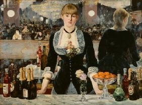 Bar in den Folies Bergeres. 1882