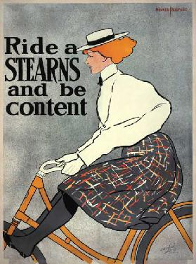 Ride a Stearns and be Content c.1896