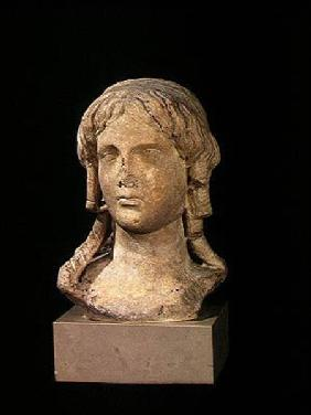 Head of Berenice I (c.317-c.275 BC) or Cleopatra I, Ptolemaic Period