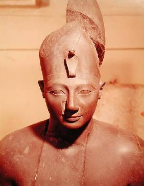 Statue of Tuthmosis III (ruled 1504-1450 BC), from the Temple of Amun, Karnak