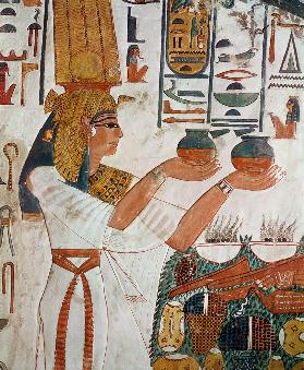 Nefertari Making an Offering, from the Tomb of Nefertari