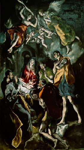 The Adoration of the Shepherds, from the Santo Domingo el Antiguo Altarpiece c.1603-14