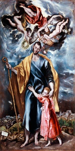 St. Joseph and the Christ Child 1597-99