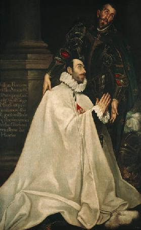 Julian Romero de las Azanas with St. Julian 1587-97