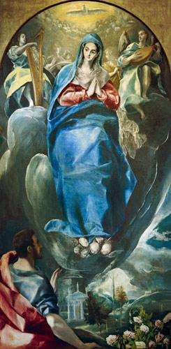 The Immaculate Conception Contemplated by St. John the Evangelist