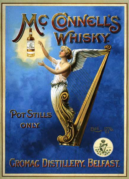 Poster advertising McConnell's Whisky 1898