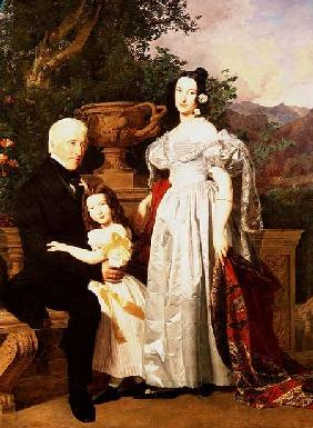 The Kerzman Family c.1840