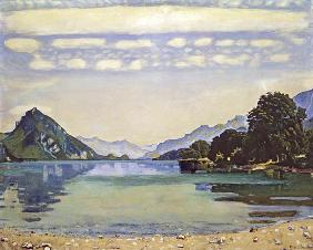 Thunersee at Leissigen c.1905-06