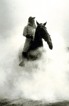 Soldier and Horse wearing a gas mask during the Battle of Verdun 1916