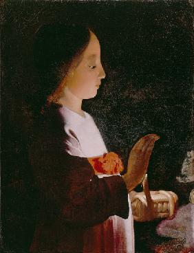 Young Virgin Mary 1640