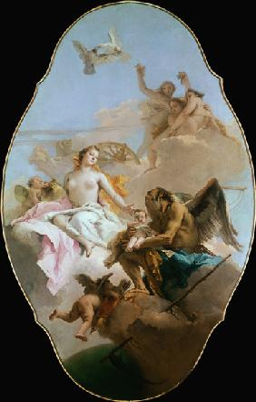 Venus, ceiling painting