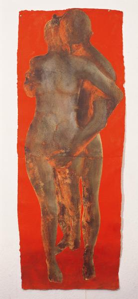 Red Running, 1998-99 (w/c on paper)