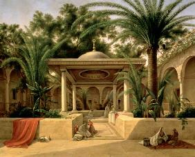 The Khabanija Fountain, Cairo 1845
